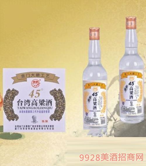 台湾高粱酒(陈酿)45度600ml1x12