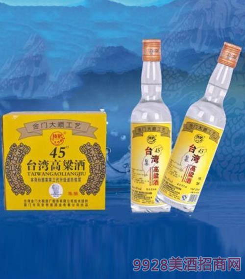 台湾高粱酒(陈酿)45度450ml1x12