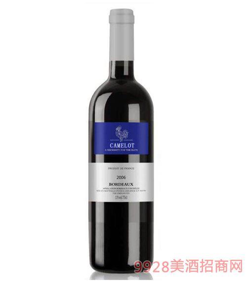 卡美隆波尔多干红葡萄酒13度750ml