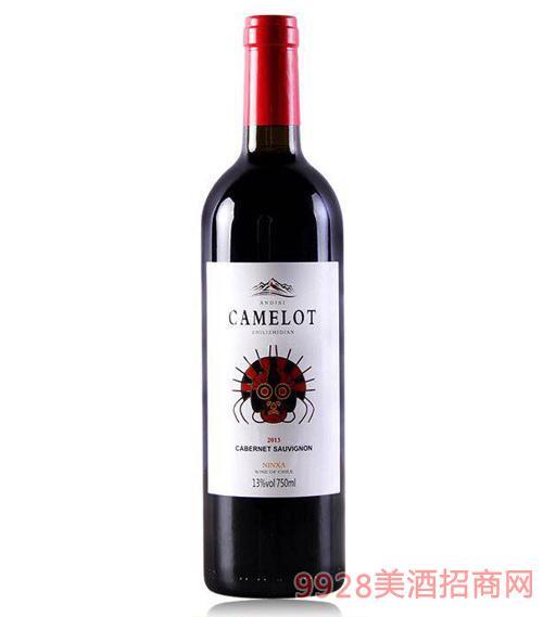 卡美隆梅洛干红葡萄酒13度750ml
