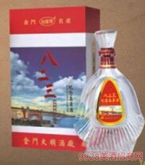 台湾金门高粱酒(八二三)52度600ml清香x6