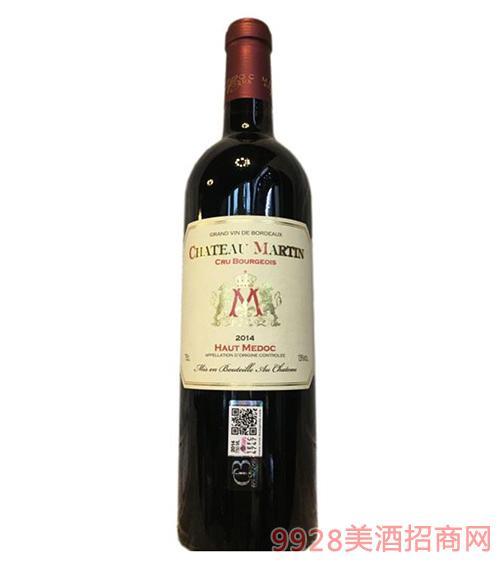 马汀城堡干红葡萄酒