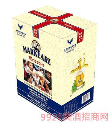 马克伯爵啤酒礼盒装500mlx12罐