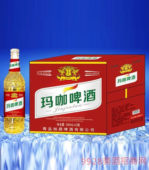 金加伦玛咖啤酒500ml×12