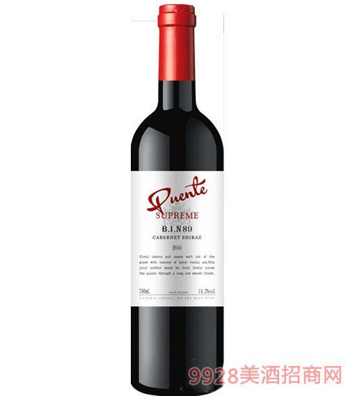 奔富相约赤霞珠西拉干红葡萄酒14.2度750ml
