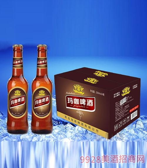 金加伦玛咖啤酒330mlx24棕色箱