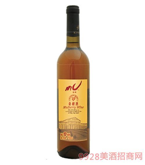 猕猴桃酒瓶装12度750ml