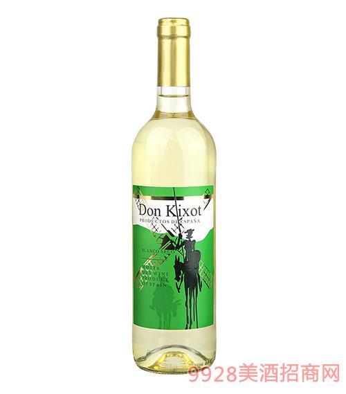 唐吉柯德干白葡萄酒12度750ml