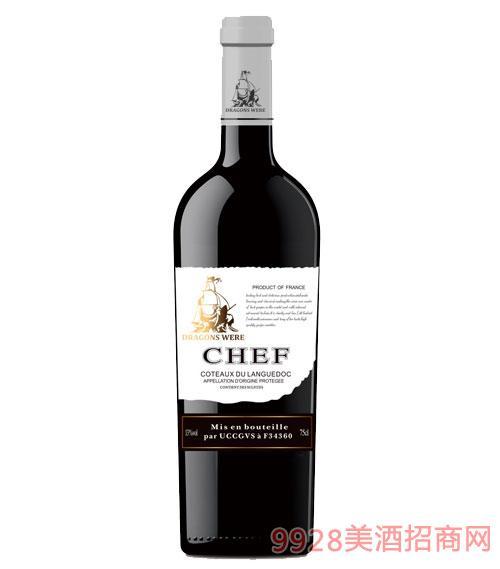 法国龙船·大副干红葡萄酒13度750ml