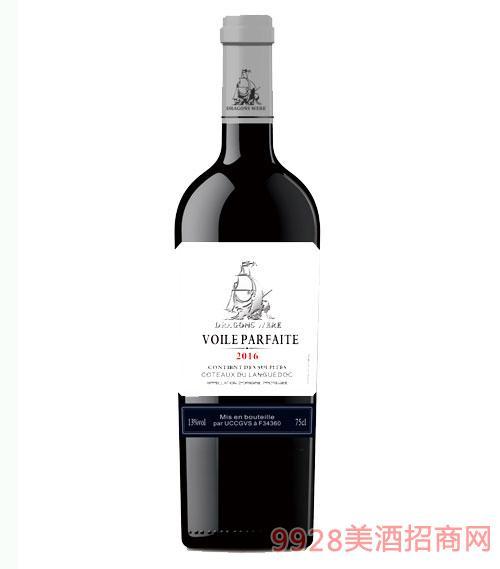 法国龙船·美渡干红葡萄酒13度750ml