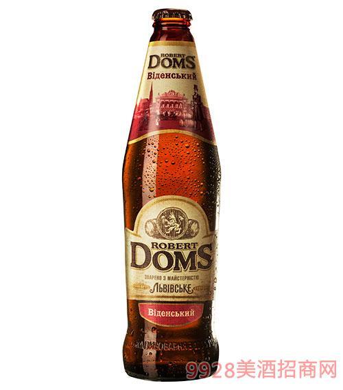 乌克兰多玛斯啤酒-迷尼色棕啤4.7度500ml