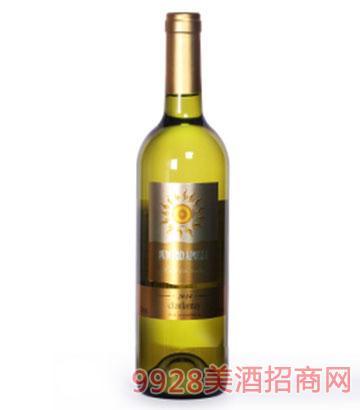 澳洲太阳神干白葡萄酒13度750ml