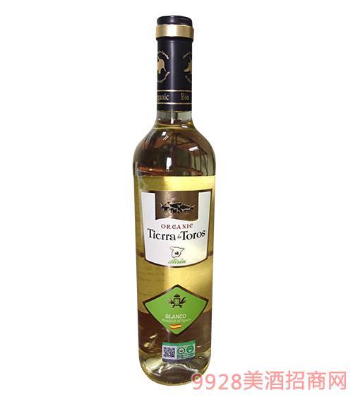 08达罗有机干白葡萄酒11度750ml