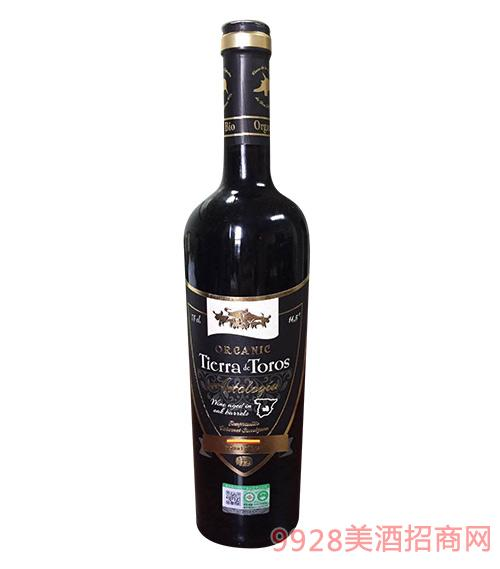 05达罗窖藏有机干红葡萄酒14.5度750ml