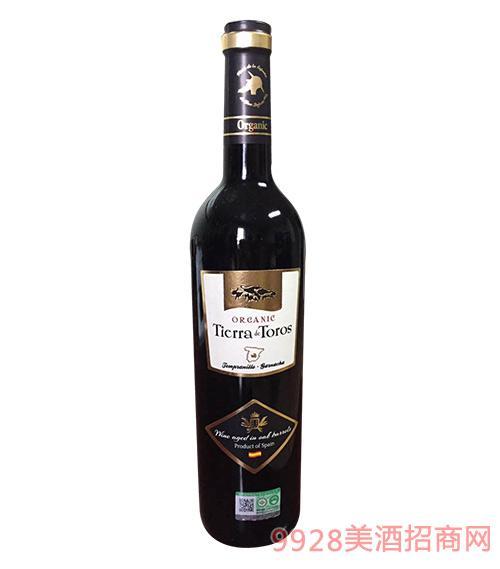 02达罗有机干红葡萄酒(橡木桶酿造)13度750ml