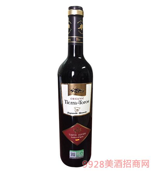 01达罗有机干红葡萄酒12.5度750ml