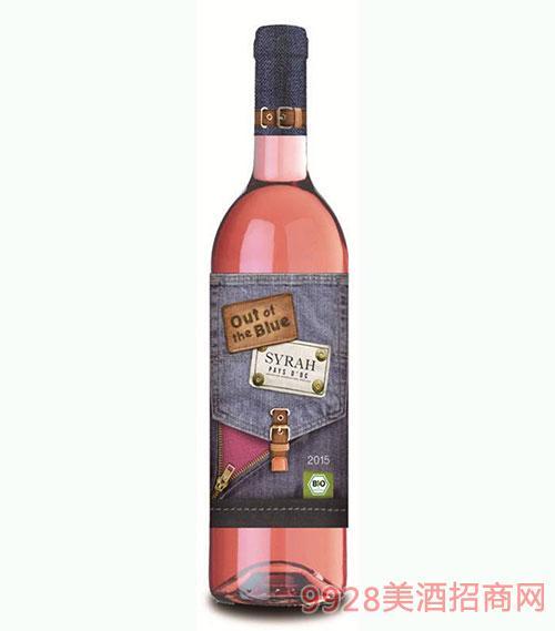法国都市牛仔3号西拉桃红葡萄酒750ml