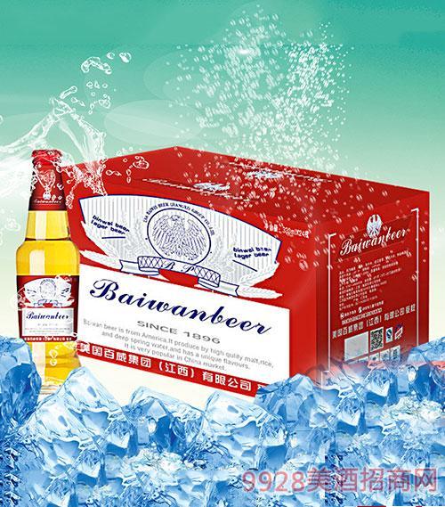 滨威啤酒箱装330mlx24瓶