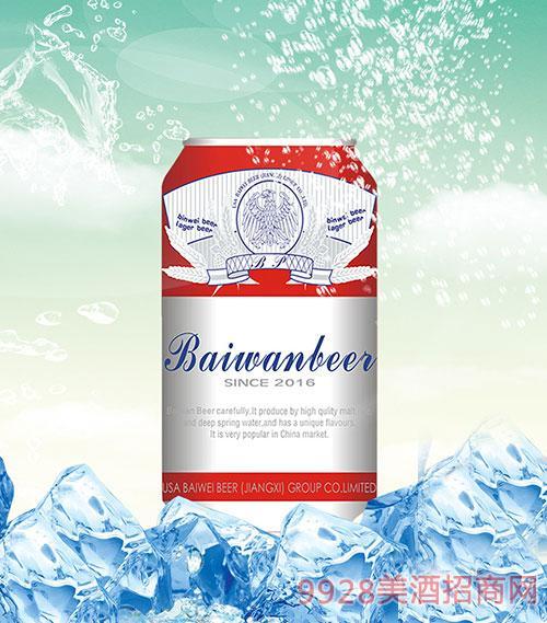 滨威啤酒330mlx24罐