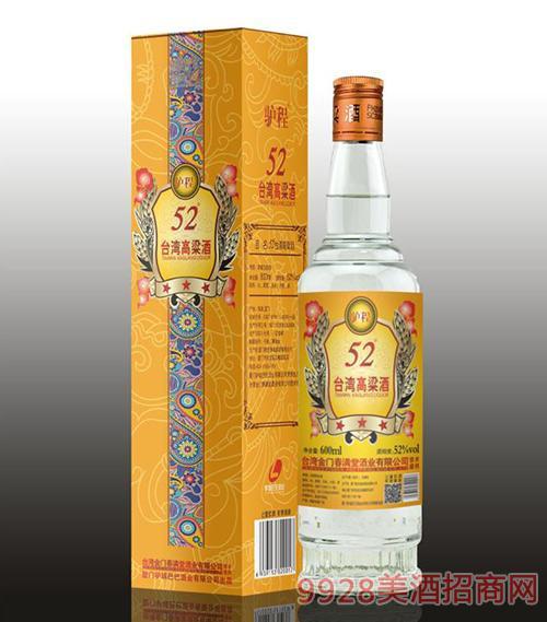 驴程台湾高粱酒52度600ml