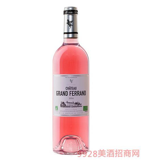 翡馬翡朗酒庄有机粉红葡萄酒13.5度750ml