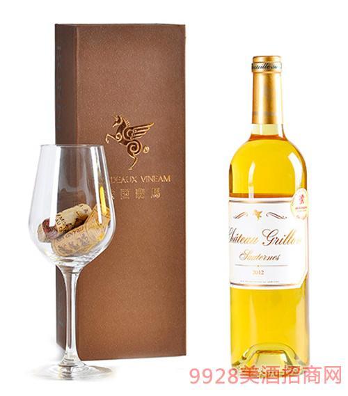 翡馬瑰珑酒庄贵腐甜白葡萄酒13.5度750ml