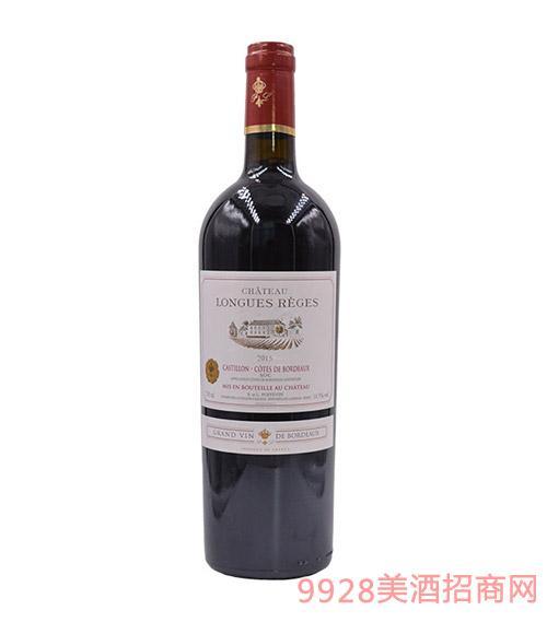 法国隆客城堡干红葡萄酒