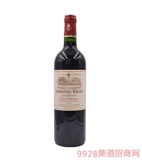 法国隆客瑞娜城堡干红葡萄酒