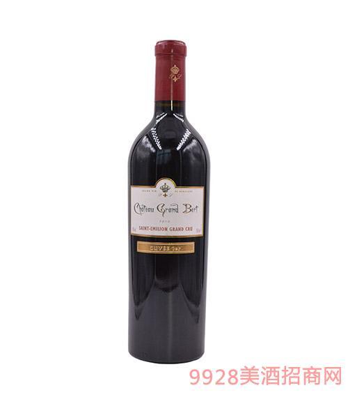 法国博帝城堡干红葡萄酒