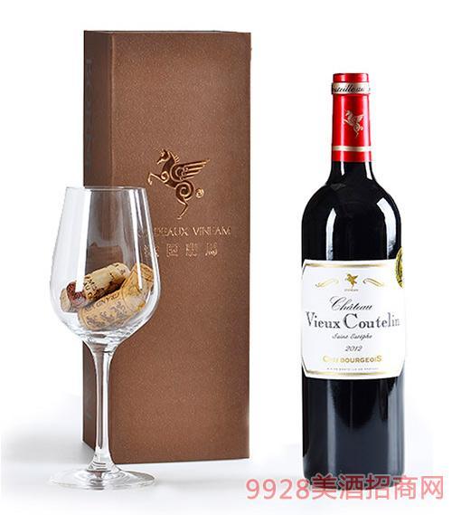 翡馬古特兰酒庄红葡萄酒13.5度750ml