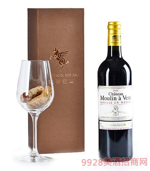 翡馬慕朗酒庄红葡萄酒13.5度750ml