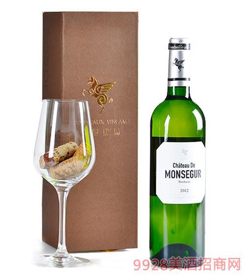 翡馬蒙赛酒庄有机白葡萄酒14度750ml