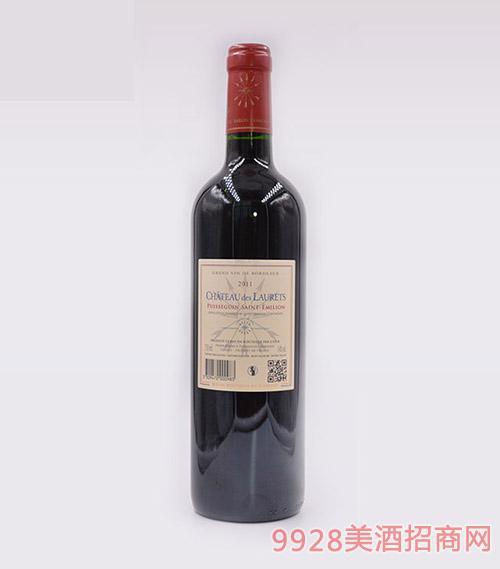 法国劳蕾丝古堡干红葡萄酒