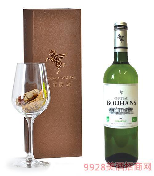 翡馬布朗酒庄有机白葡萄酒14度750ml