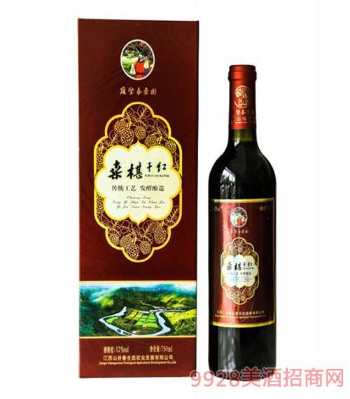 山谷春桑椹酒12度750ml