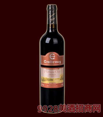 白金级西拉子干红葡萄酒14.5度750ml