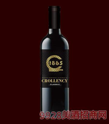 克伦溪经典西拉子干红葡萄酒13.5度750ml