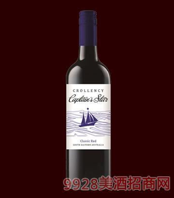 舵手之星干红葡萄酒14度750ml