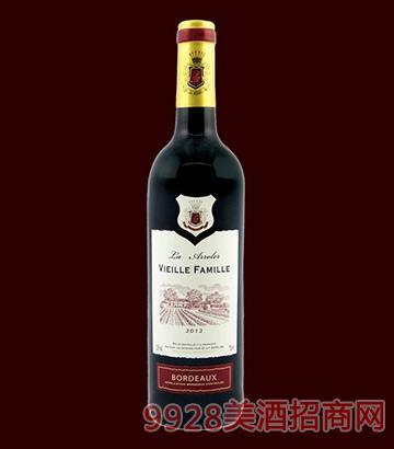 庄园世家干红葡萄酒12.5度750ml