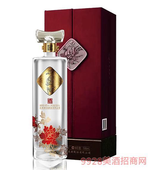 国艳西凤酒珍藏级B版45度500ml
