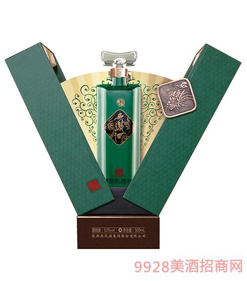 国艳西凤酒珍藏级A版52度500ml