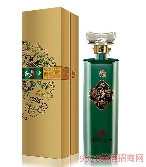 国艳西凤酒金装A版52度500ml