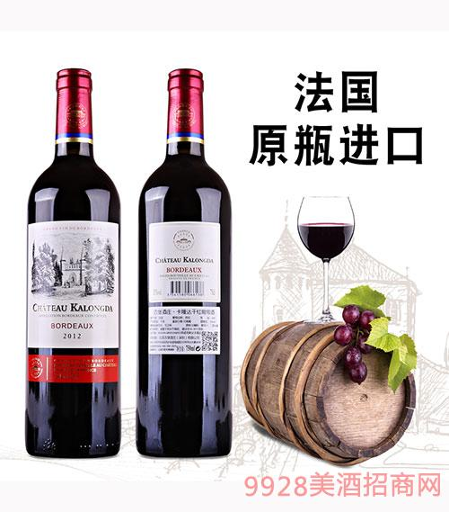 古堡酒庄2012葡萄酒750ml