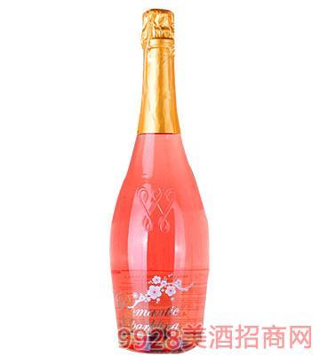 玫瑰花味起泡酒