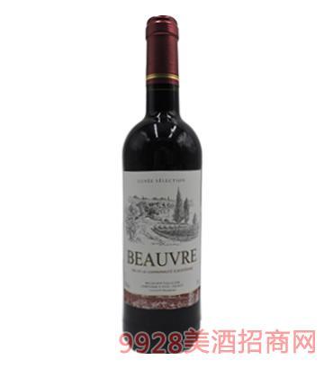 法国BEAURE博威干红葡萄酒