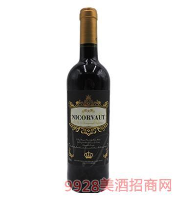 法国NICORVAUT尼克弗干红葡萄酒
