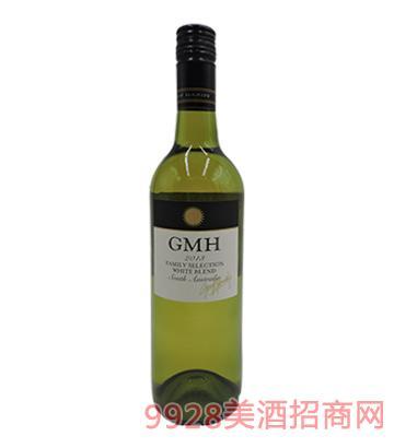 杰夫哈迪GMH家选混酿系列2013干白葡萄酒