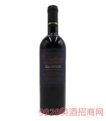 智利黛富德原装进口格兰珍藏赤霞珠干红葡萄酒