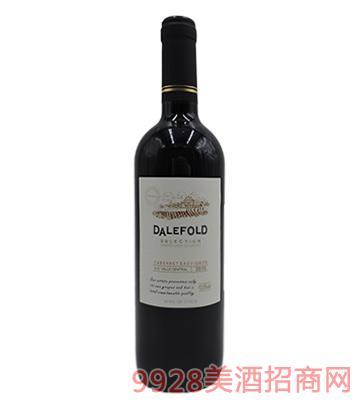 智利原装进口黛富德精选赤霞珠葡萄酒750ml