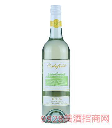 黛富德BIN106干白葡萄酒2014